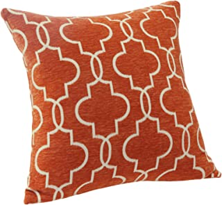 Best orange geometric pillow Reviews