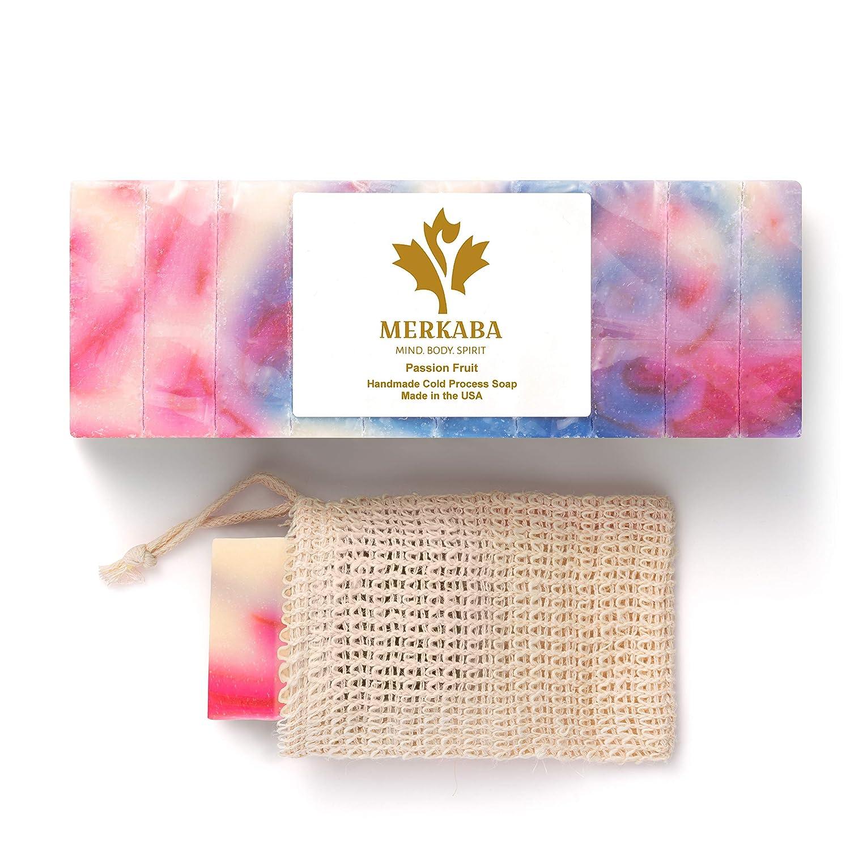 Merkaba Passion Our mart shop most popular Fruit Cold Process Women's Bar Soap –