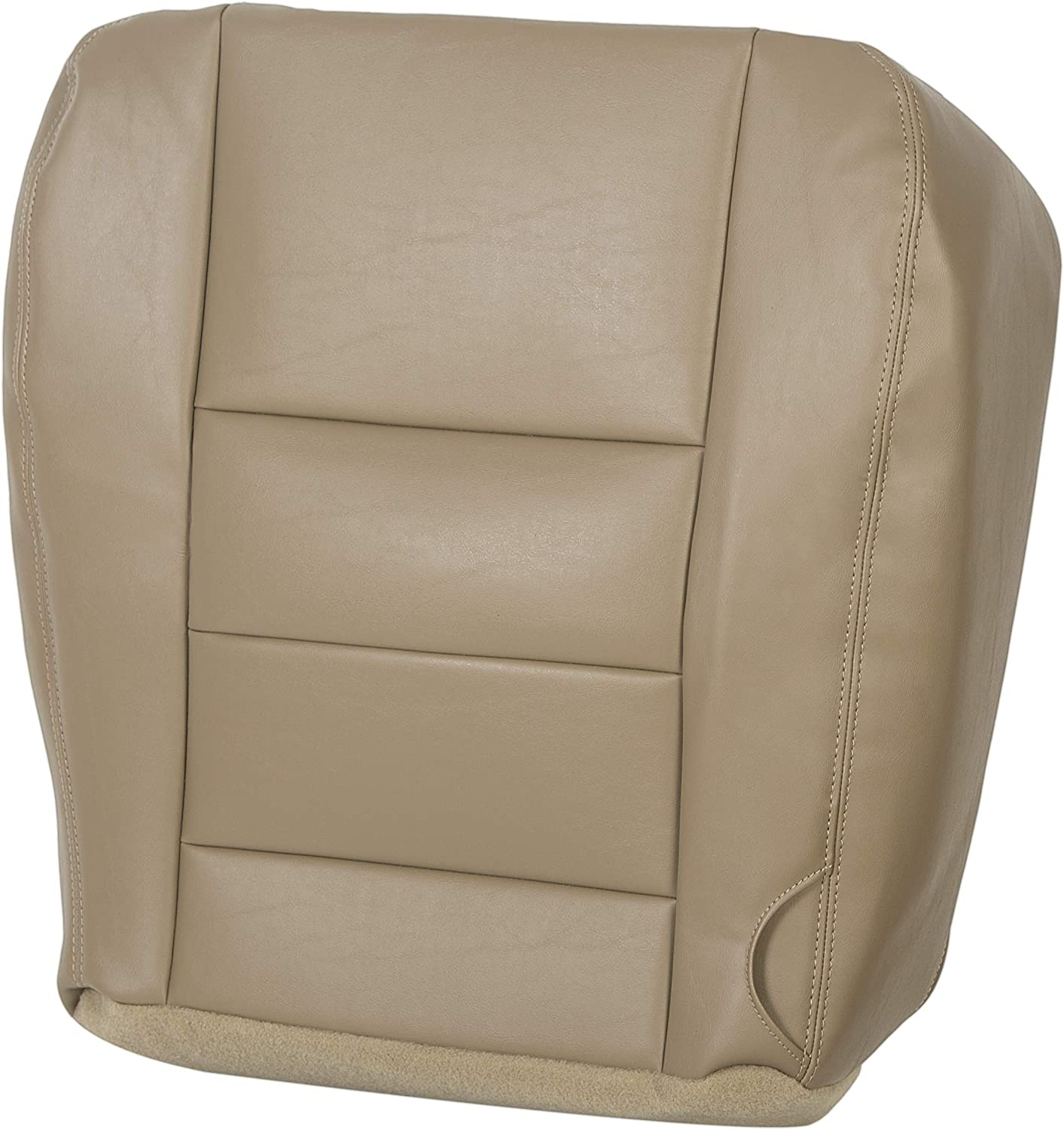 Genuine Free Shipping ECOTRIC Driver Bottom Seat Cover Compatible Tan Vinyl Beauty products Color with