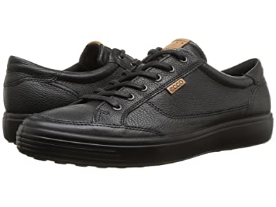 ECCO Soft Retro Sneaker (Black 2) Men