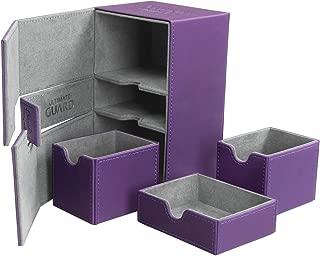 Ultimate Guard Twin Flip N Tray Deck Case 160+ Standard Size XenoSkin Purple