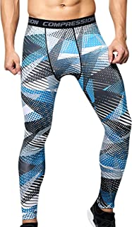 Men Compression Pants Cool Dry Workout Tights Baselayer Sport Leggings Trousers