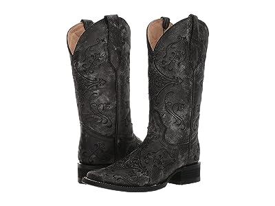 Corral Boots L5252 (Black/Grey) Cowboy Boots