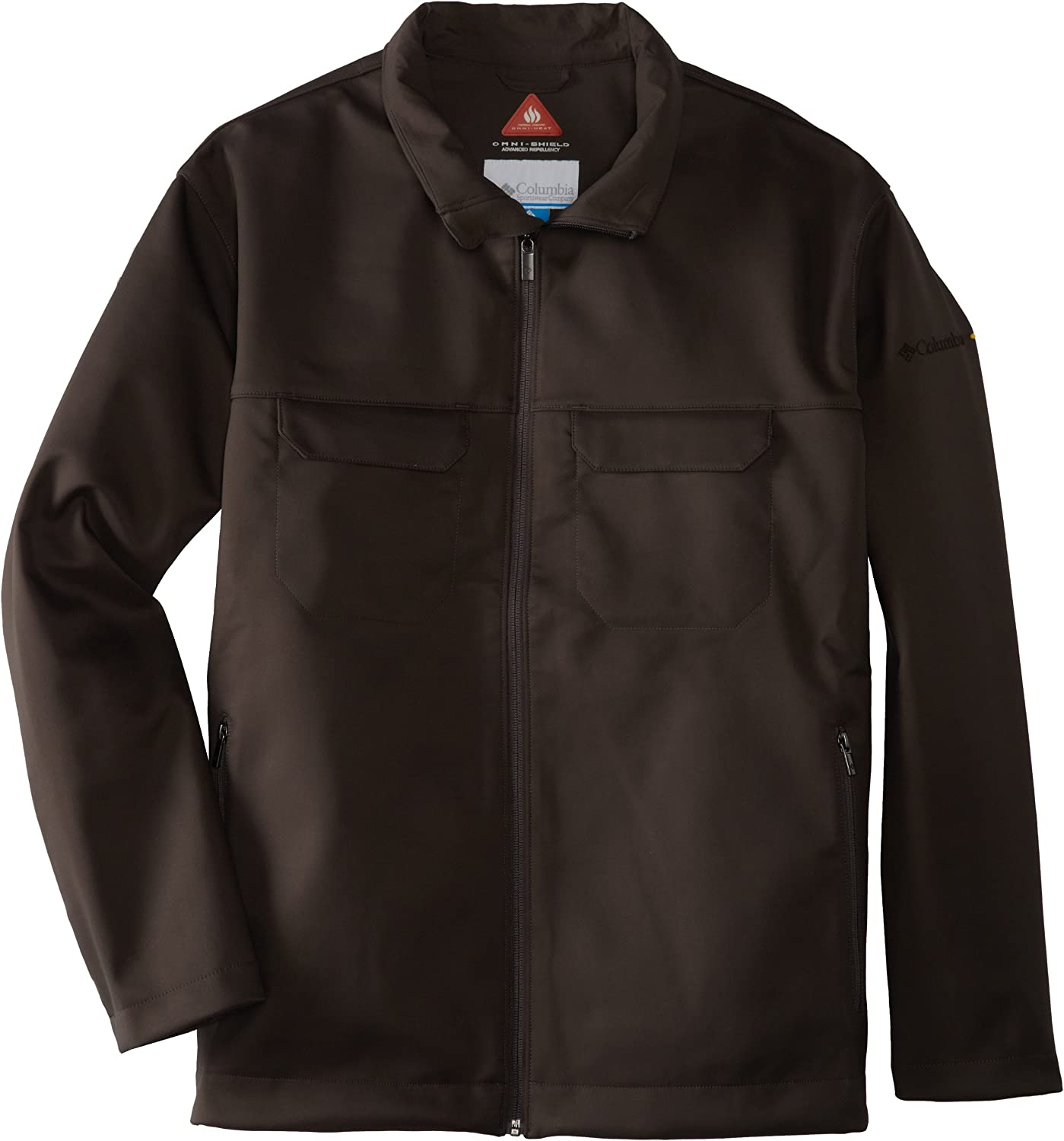 Columbia Men's Smooth Pursuit Softshell Extended Jacket (Big)