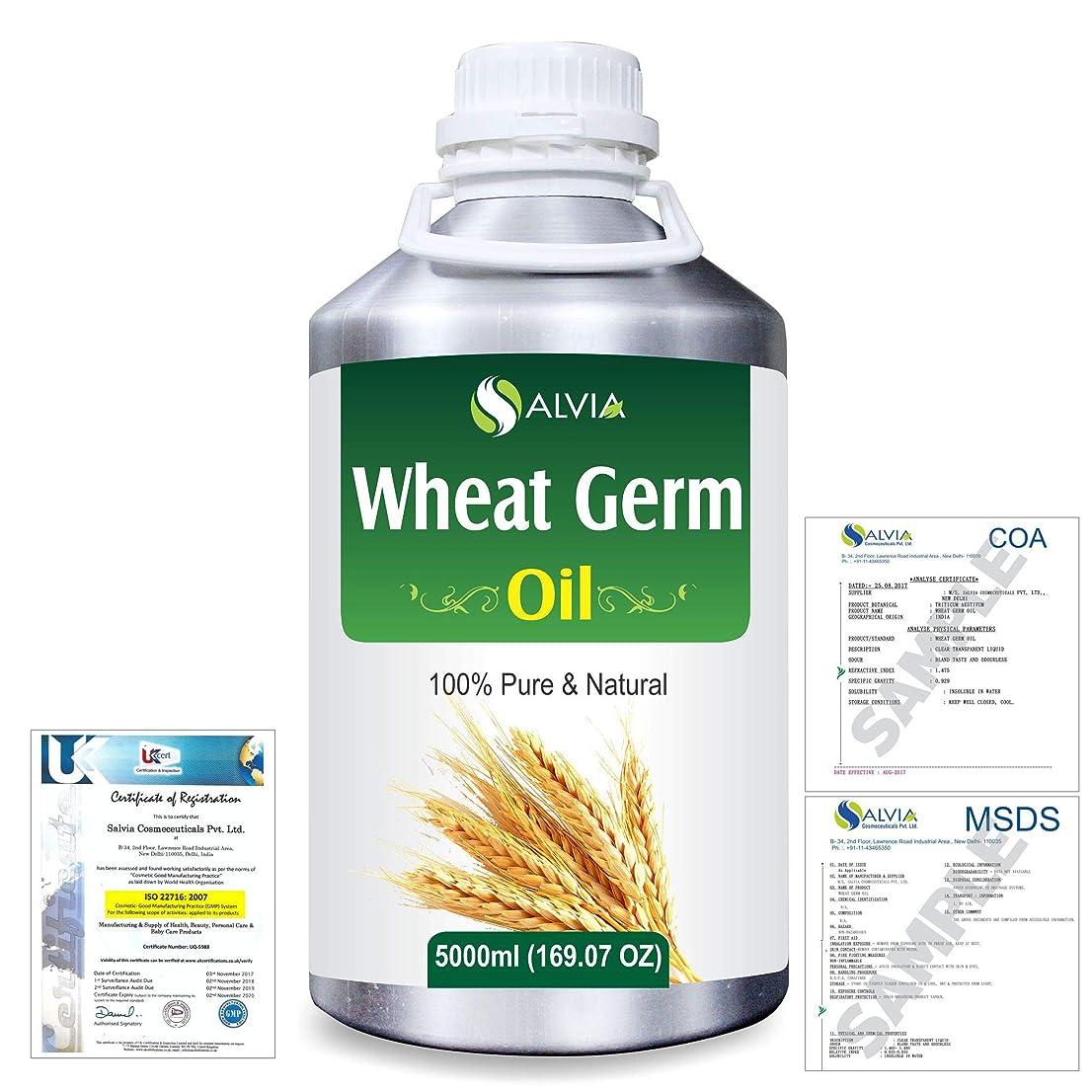 排除するただドキュメンタリーWheat Germ (Triticum aestivum) 100% Natural Pure Essential Oil 5000ml/169fl.oz.
