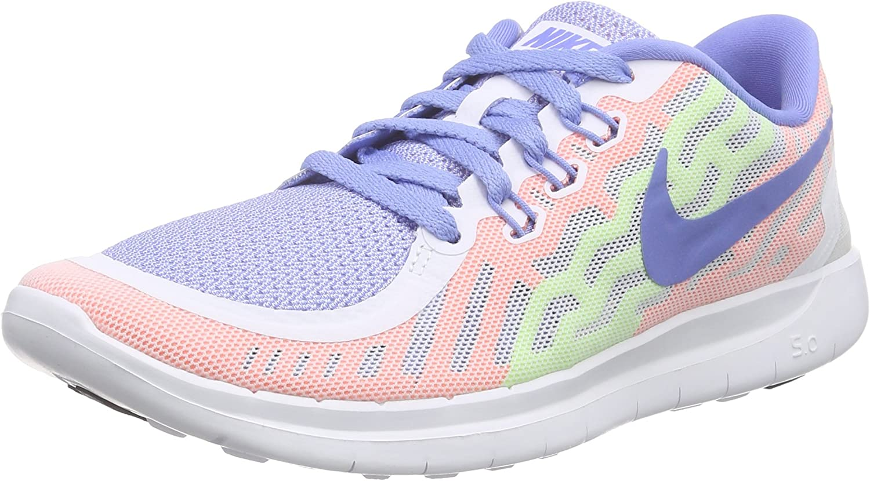 Nike Free 5.0 Big Kids Style: 725114-101 Size: 6.5 Y US