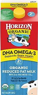 Best Horizon Organic, Milk Plus DHA Omega-3, 2% Reduced Fat Milk Ultra Pasteurized, Half Gallon, 64 oz Review