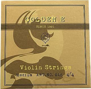 violin gold e string