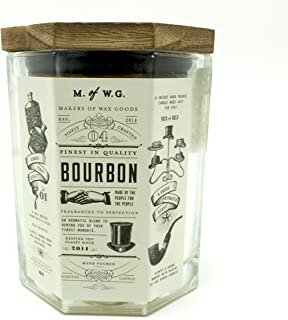 Makers of Wax Goods Rich & Bold #4 Bourbon Wood-Wick 11.4 Oz. Candle In Glass