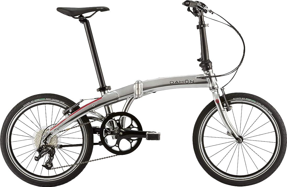 カポック確認する作詞家ダホン(DAHON) Mu D9 9段変速 折りたたみ自転車 19MUD9SL00 クイックシルバー