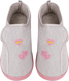 Clobeau Women House Slipper Home Shoes Breathable Slippers Memory Foam Loafer Slippers Shoes Ladies Indoor Slippers Female Spa Bedroom Slippers with Nonslip Sole Xmas Gifts