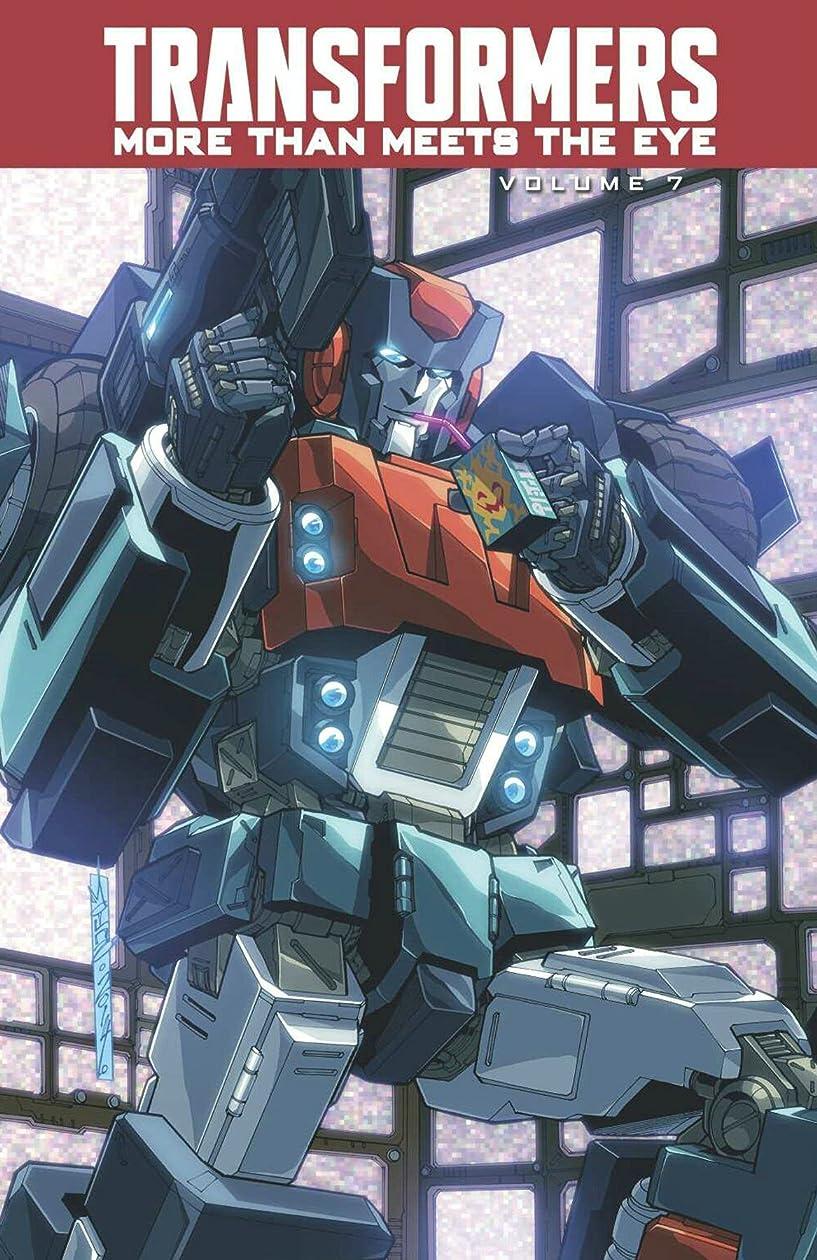 驚いたことに時折ジョセフバンクスTransformers: More Than Meets The Eye Volume 7