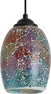 Best multicolor glass pendant lights Reviews