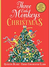Three Little Monkeys at Christmas: A wickedly funny festive adventure! (English Edition)