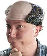 Balding Grey Salt and Pepper Costume Wig for Men