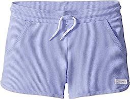 2X2 Drapey Rib Shorts (Big Kids)