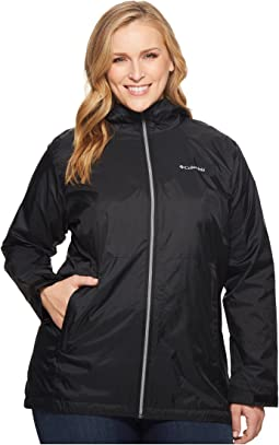 Plus Size Switchback™ Lined Long Jacket
