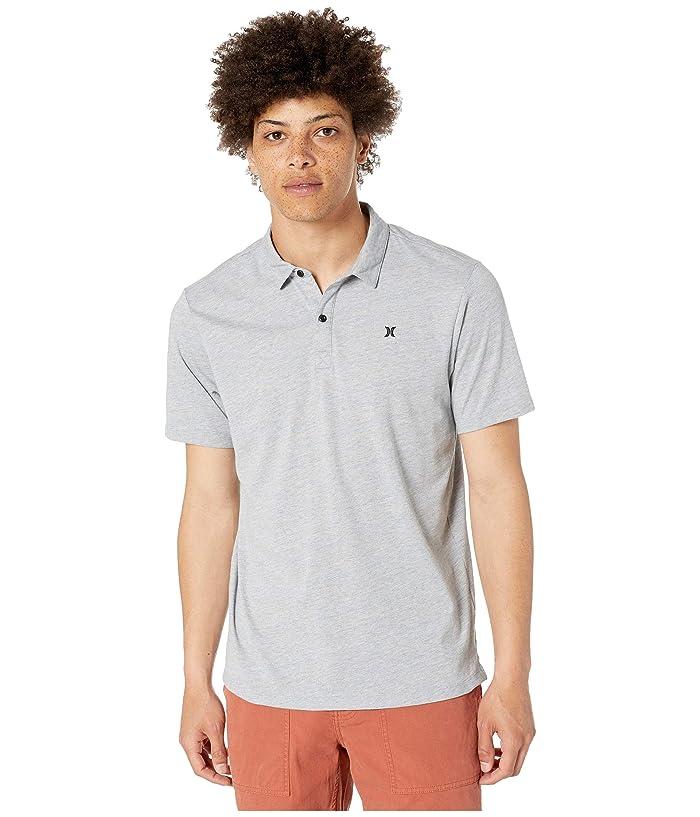 Hurley Dri-Fit Coronado Polo (Grey Heather) Men