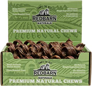 REDBARN Fetchers Springs Dog Chew, 7.5 Inch, Naturals, 20 Count