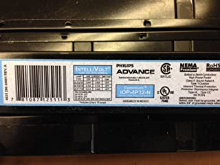 (Case of 10) Advance 12511 - IOP-4P32-N T8 120-277V Fluorescent Ballast