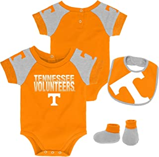 Fast Asleep Tennessee Volunteers Baby and Toddler Hooded Romper