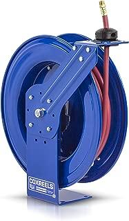 Coxreels Heavy-Duty Self-Retracting Air/Water Hose Reels, 1/2