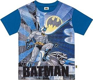 Camiseta em Meia Malha Batman,  Fakini,  Meninos