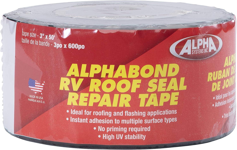 Lippert Components ALPHABOND TPO Tape Black QTPOBL350 50' security 3