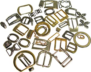 Clearance Assorted Buckle and Hardware Pack Various Shape/Size Approx 25 Pieces