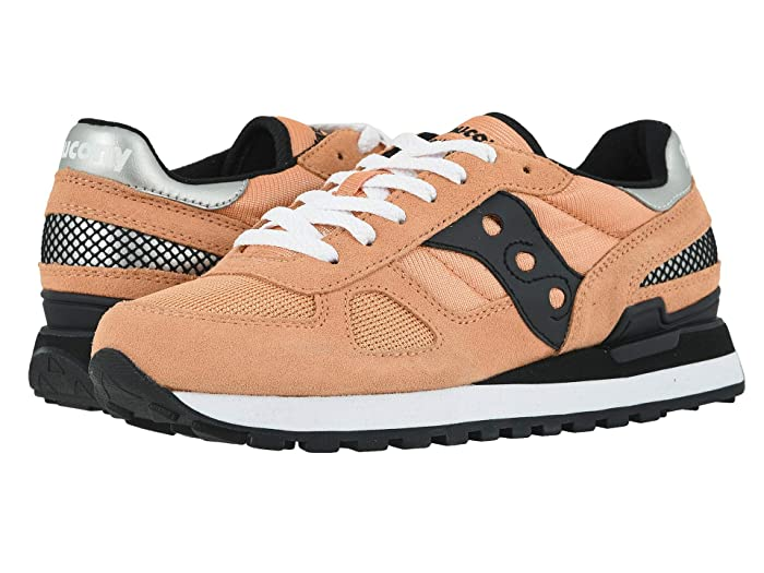 Saucony Originals  Shadow Original (Coral/Black) Womens Classic Shoes