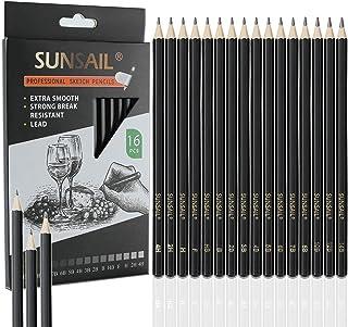 مداد طراحی نقاشی حرفه ای 16 (14B-4H) ، مداد گرافیت نقاشی هنری ایده آل برای طراحی نقاشی ، طراحی ، سایه زدن ، مداد هنرمند برای مبتدیان