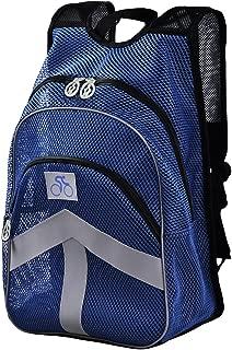 Lt Tribe Breathable Mesh Backpack Travel Hiking Backpack Blue G00146