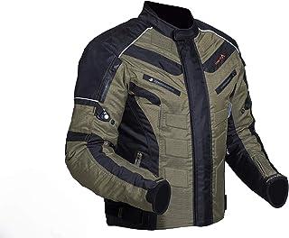 Shua Immortal Textil Turismo Corto Moto Cordura Chaqueta para hombres Acolchado CE aprobado