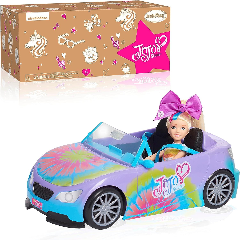 Just Play JoJo Siwa California Cruiser, Doll Car, Rainbow Tie-Dy