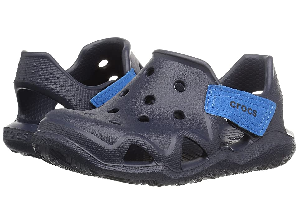 Crocs Kids Swiftwater Wave (Toddler/Little Kid) (Navy) Kid