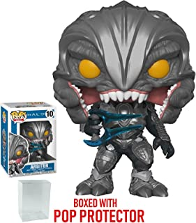Funko Pop! Games: Halo - Arbiter Vinyl Figure (Bundled with Pop Box Protector Case)
