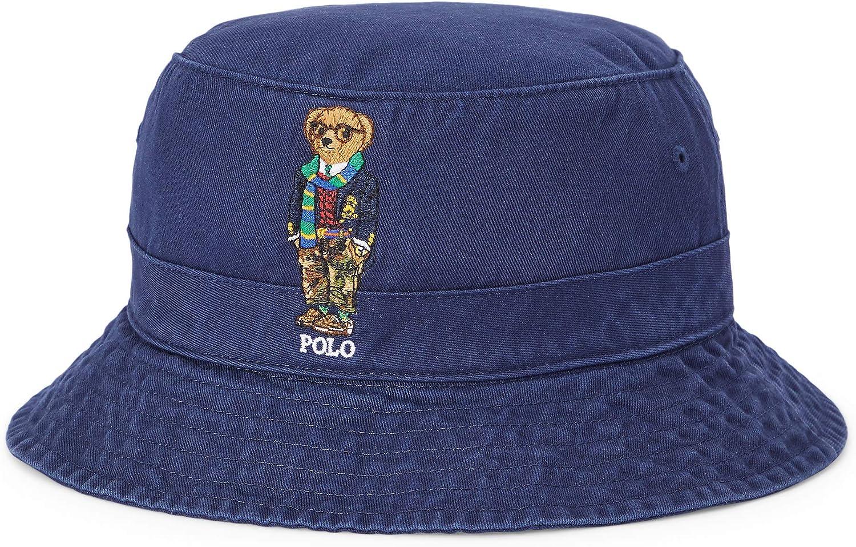 Polo Ralph Lauren Men`s Polo Bear Chino Bucket Hat