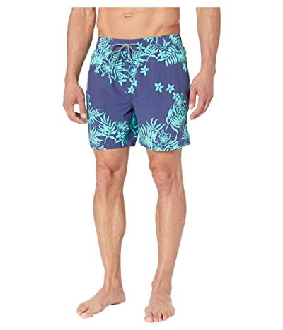 Reyn Spooner Hilo Gardens Swim Trunks (Medieval Blue) Men