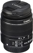 Canon 2042B002-cr EF-S 18-55mm f/3.5-5.6 is II SLR Lens (Renewed), Black