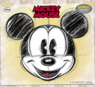 Disney Mickey Mouse Wall Calendar (2015)