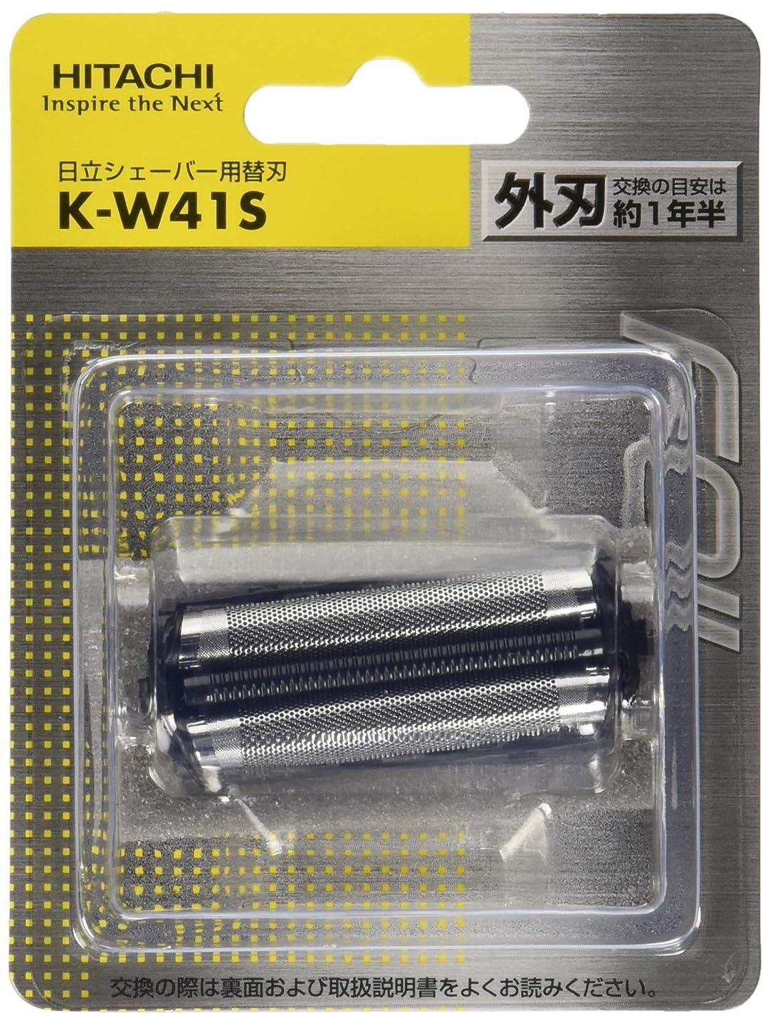 理解する減らす日立 シェーバー用替刃(外刃) K-W41S