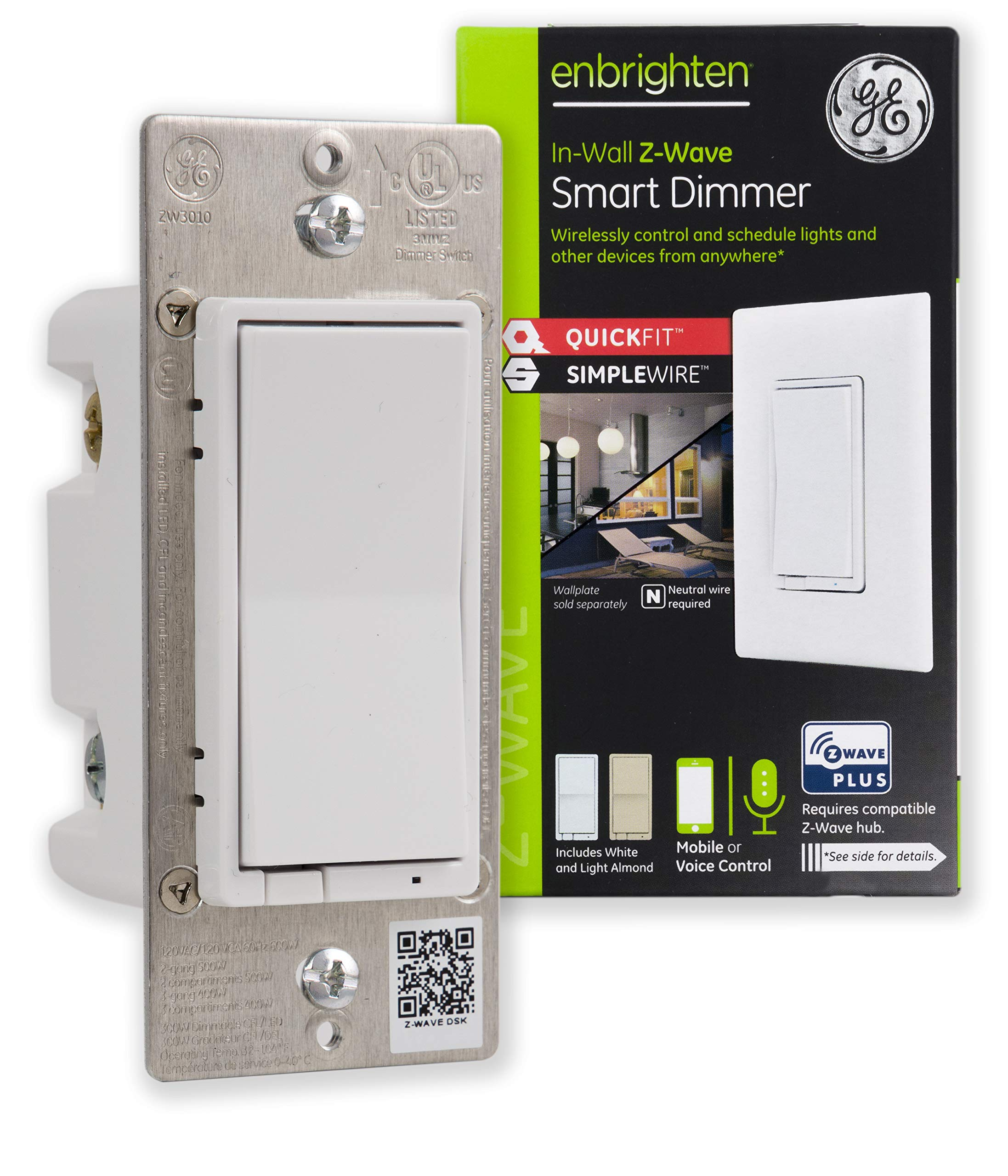 GE Enbrighten SimpleWire SmartThings 46203