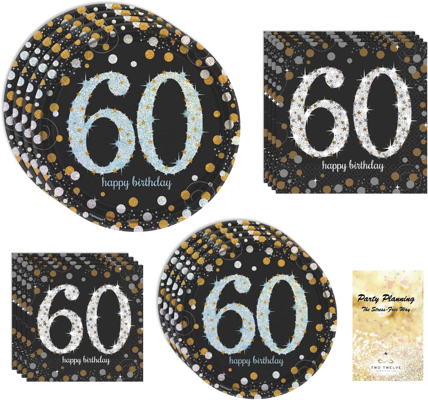 60th Birthday Today's only Party 5% OFF Supplies B Sparkling CelebrationDesign