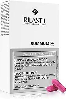 Rilastil Summum RX - Complemento Alimenticio Antioxidante y Antiedad que Previene el Envejecimiento Cutáneo. 30 cápsulas