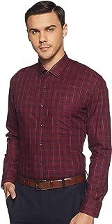 Amazon Brand - Arthur Harvey Men's Checkered Slim fit Formal Shirt
