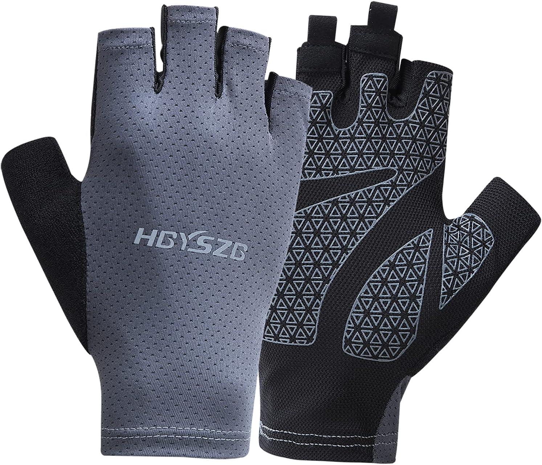 LJCUTE Sun Brand Cheap Sale Venue Protection Long-awaited Fingerless Fishing Man Woman for Gloves
