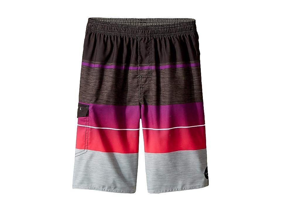 Rip Curl Kids Eclipse Volley Boardshorts (Big Kids) (Pink) Boy