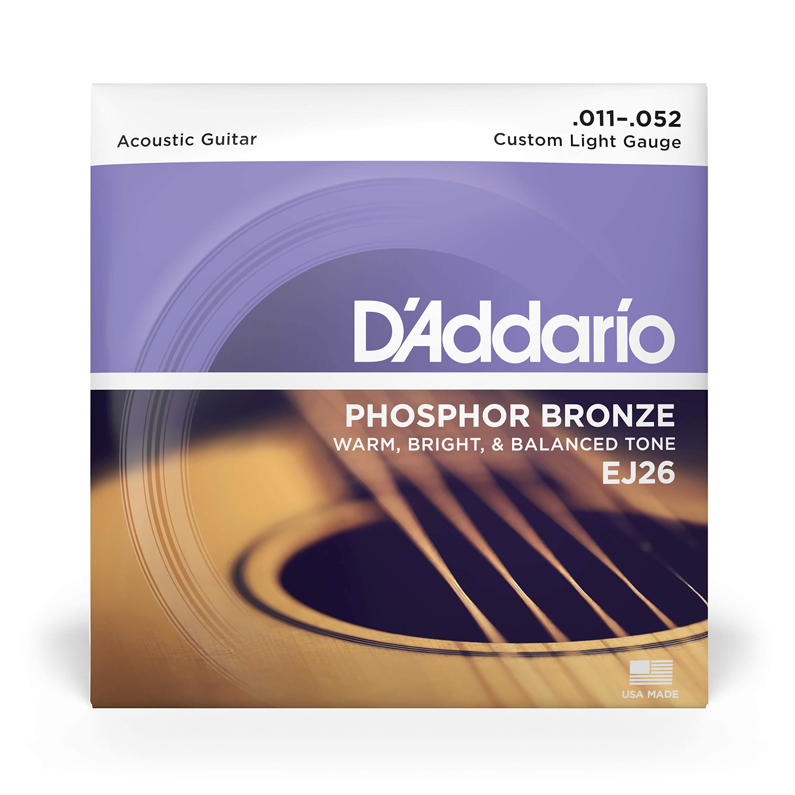DAddario EJ26 Juego de Cuerdas, Naranja: Amazon.es: Instrumentos musicales