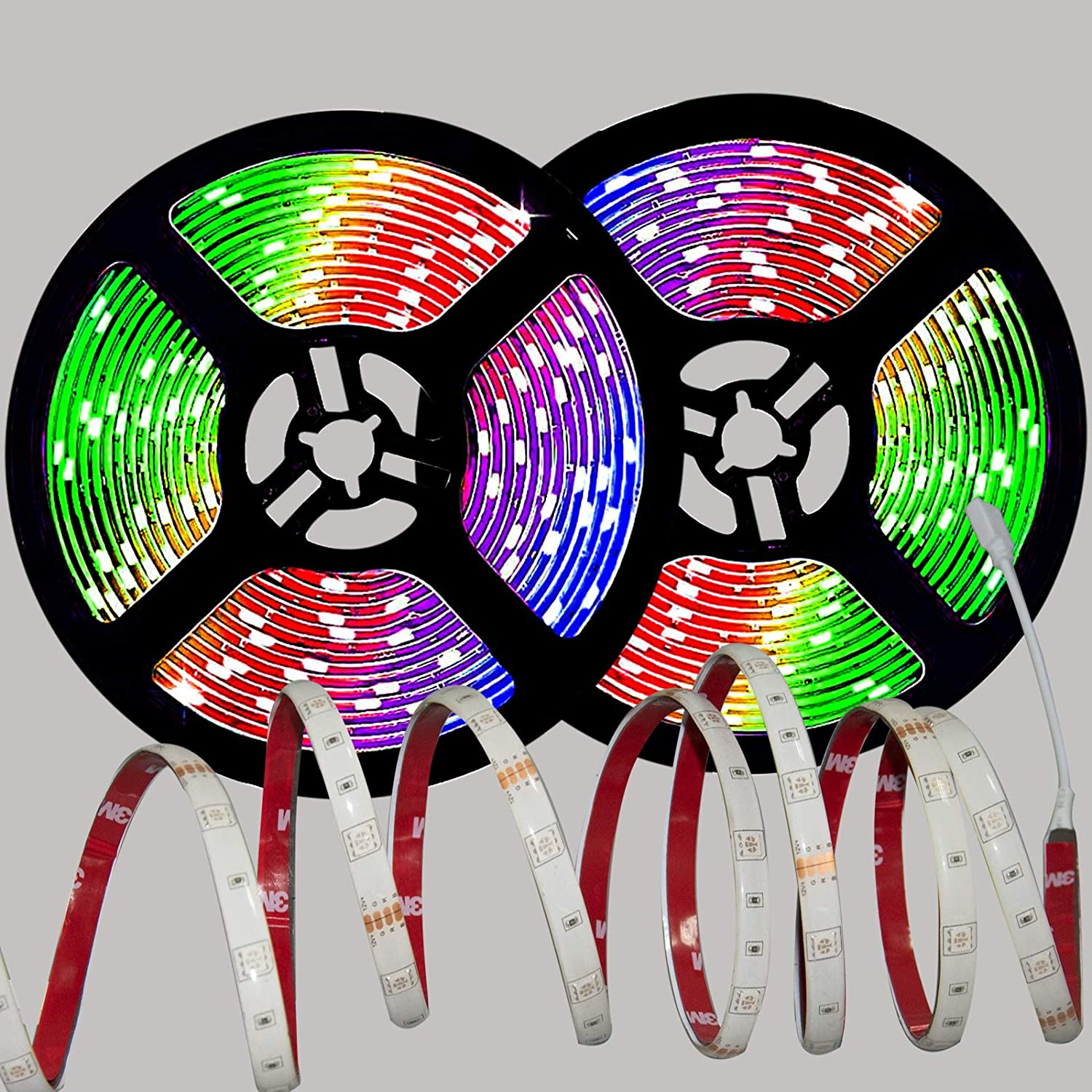 JASOTO LED Lights Strip Ranking TOP2 Waterproof Cha 32.8FT Save money Dimmable Color RGB