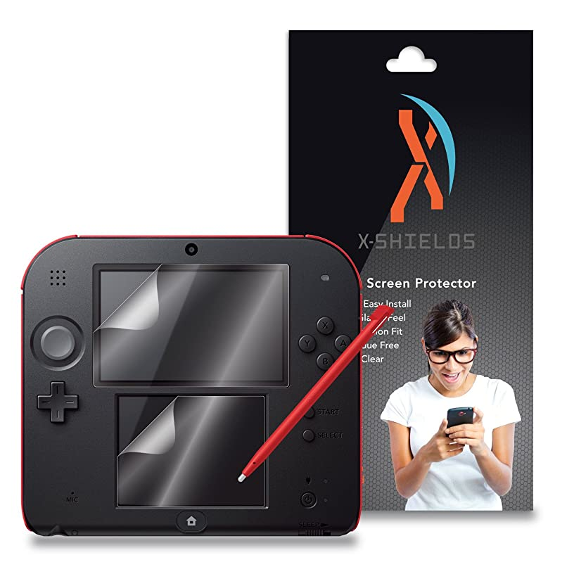 XShields? (4-Pack) Screen Protectors for Nintendo 2DS (Ultra Clear)